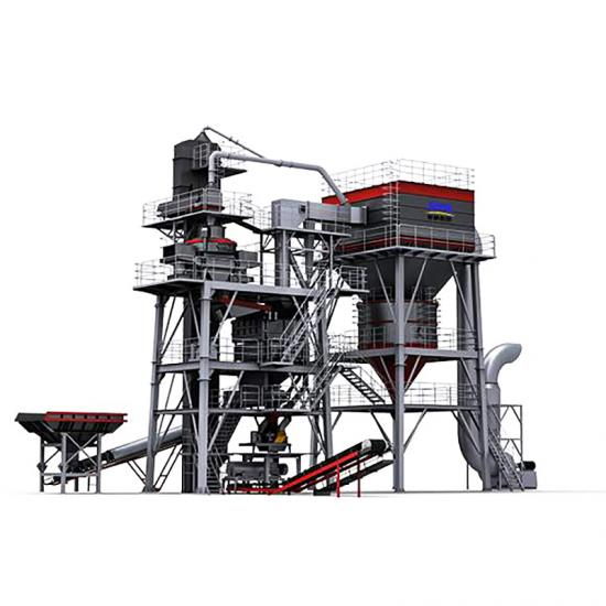 sand processing line