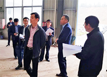 Chen Jinlong and other leaders visited Samhar company
